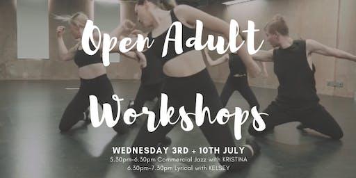 Open Adult Workshops