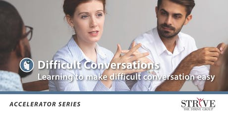 Difficult Conversations tickets