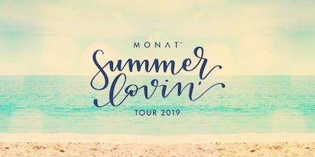 Monat Summer Lovin' Tour 2019 tickets
