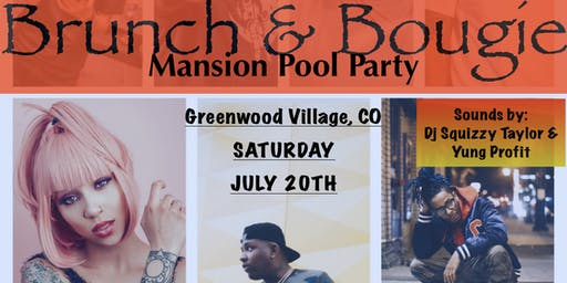 Brunch & Bougie Mansion Pool Party