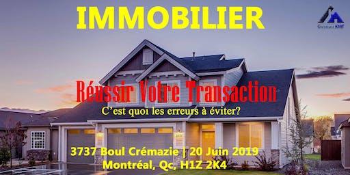 Réussir Votre Transaction Immobilière