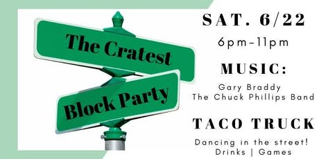 The Cratest Block Party!  tickets
