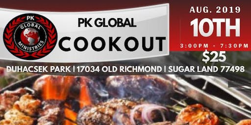 PK Global Ministries Cookout