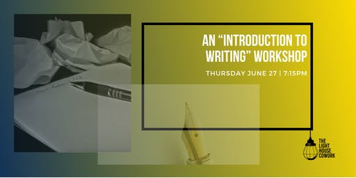 "An ""Introduction to Writing"" Workshop"