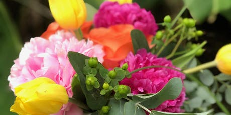 Peony Floral Workshop at White Star Market  tickets