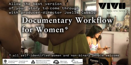 Documentary Workflow for Women* with Joella Cabalu tickets