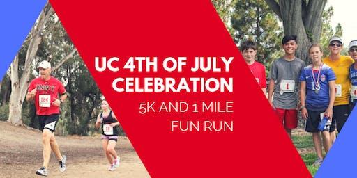 5K and 1 Mile Fun Run- UC Celebration July 4th