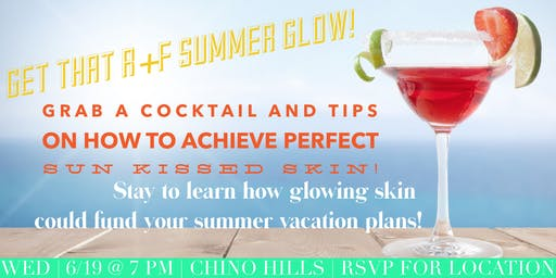 Summer Skin Care and Beauty Bar Event