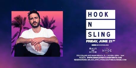 Hook N Sling at Hyde Beach tickets