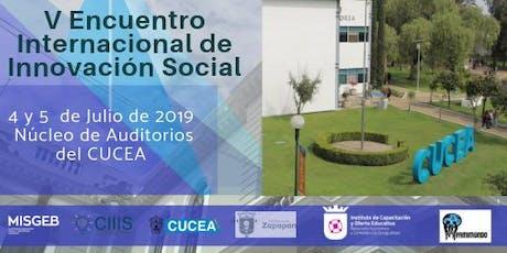 V Encuentro Internacional en Innovación Social entradas