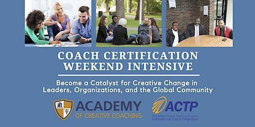Coach Certification Weekend Intensive - Denver, CO