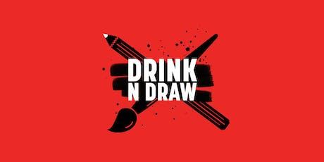 Drink'N'Draw | 18+  tickets