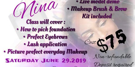 Class is in Session- Makeup How to!!! tickets