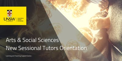 Tutors & Sessional Teaching staff online orientation to teaching at UNSW Faculty Arts & Social Sciences 2019