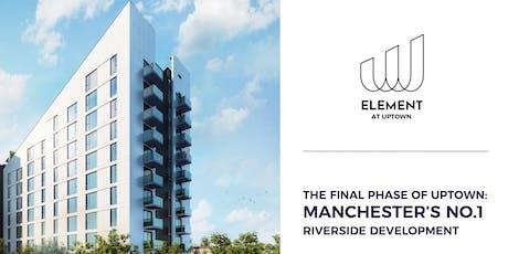 投資曼徹斯特: 與物業專家一對一的投資諮詢 | Element, UPTOWN tickets