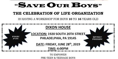 SAVE OUR BOYS