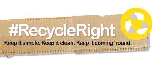Recycle Right community sessions at Libraries ACT