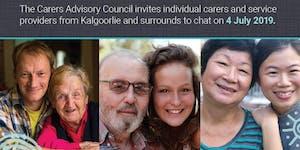 Carers: Have your say - Kalgoorlie 4 July 2019