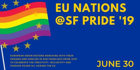 European Union Nations at San Francisco Pride 2019 tickets