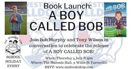 Book Launch: A Boy Called Bob tickets