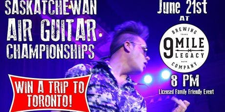 2019 Sask Air Guitar Championship tickets