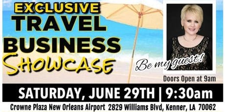 EXCLUSIVE TRAVEL BUSINESS SHOWCASE tickets