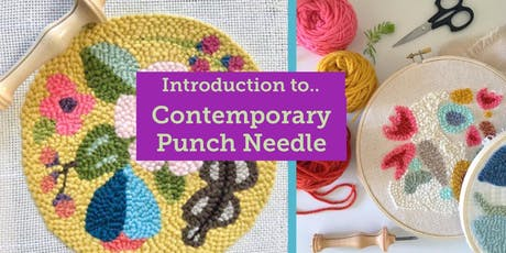 Introduction to Contemporary Punch Needle tickets