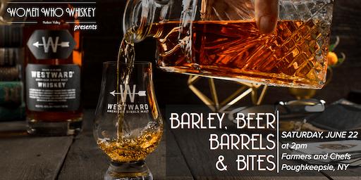 Barley, Beer, Barrels and Bites: the Making of Westward Whiskey