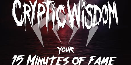CRYPTIC WISDOM LIVE AT SPORTS WATCH BAR AND GRILL tickets