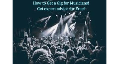 How to Get a Gig for Musicians!