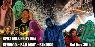 SPILT MILK Ballarat - Bendigo Bus Shuttle