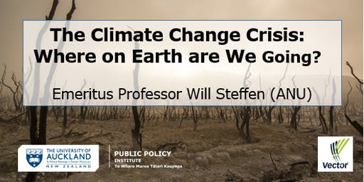 Will Steffen - The Climate Change Crisis: Where on Earth are We Going?