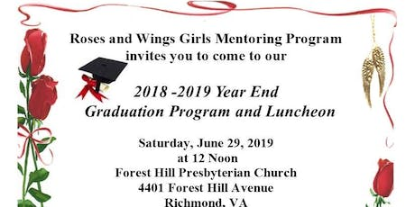 Roses and Wings Graduation and Luncheon tickets