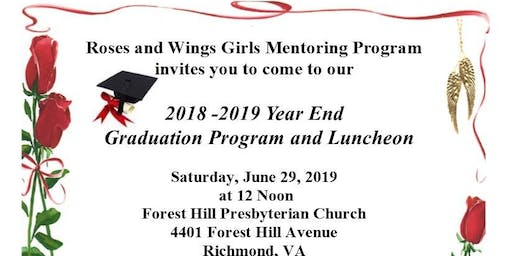 Roses and Wings Graduation and Luncheon