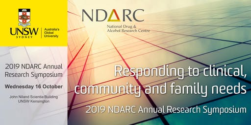 NDARC 2019 Annual Research Symposium
