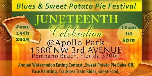 Blues & Sweet Potato Pie Festival: A Juneteenth Celebration