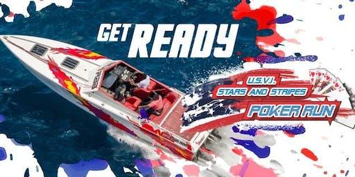 USVI Stars and Stripes Poker Run 2019