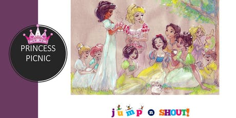 Prince and Princess Picnic at jump n shout! tickets