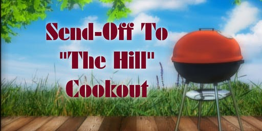 "Send-Off To ""The Hill"" Cookout"