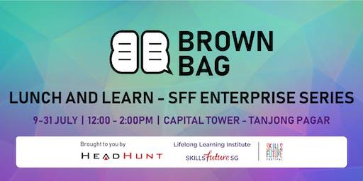 Brown Bag @ Tanjong Pagar: Life hacks for Corporate Success - StrengthsAsia