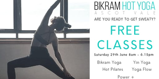 Free Yoga & Pilates Open Day