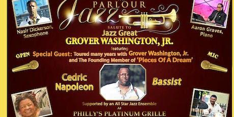 Cedric Napoleon Salutes Jazz Great Grover Washington, Jr.  tickets