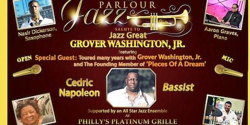 Cedric Napoleon Salutes Jazz Great Grover Washington, Jr.
