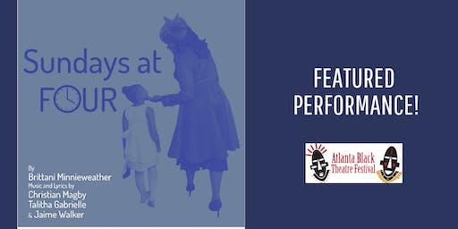 Atlanta Black Theatre Festival- Sundays at Four