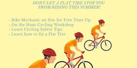 Free cycling workshop and bike tuneup event tickets