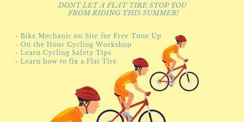 Free cycling workshop and bike tuneup event