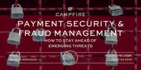 Payment Security & Fraud Management: How to Stay Ahead of Emerging Threats tickets