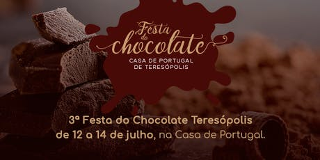 3ª Festa do Chocolate Teresópolis ingressos
