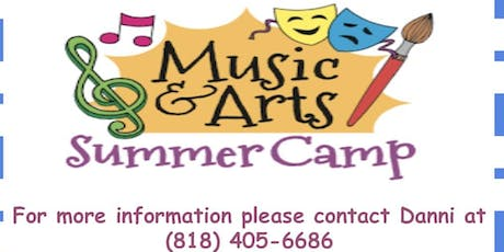 Art and Music Summer Camp tickets