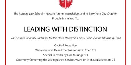 Leading With Distinction: Reception for the Chen Public Interest Fund tickets